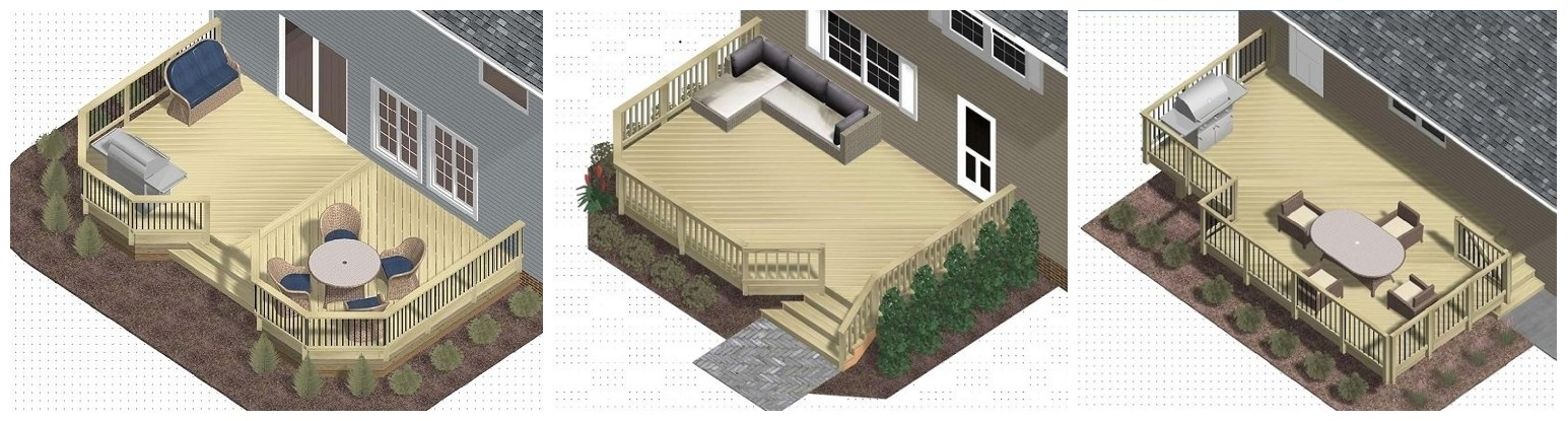 Patio step by step