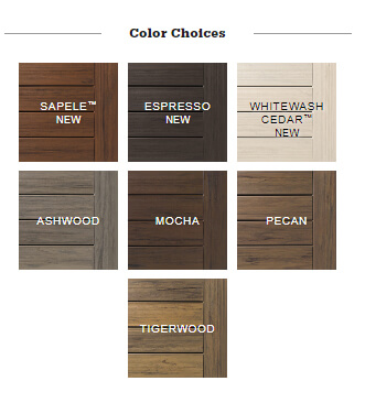 TimberTech Legacy color choices