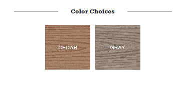 Timbertech Reliaboard color choices