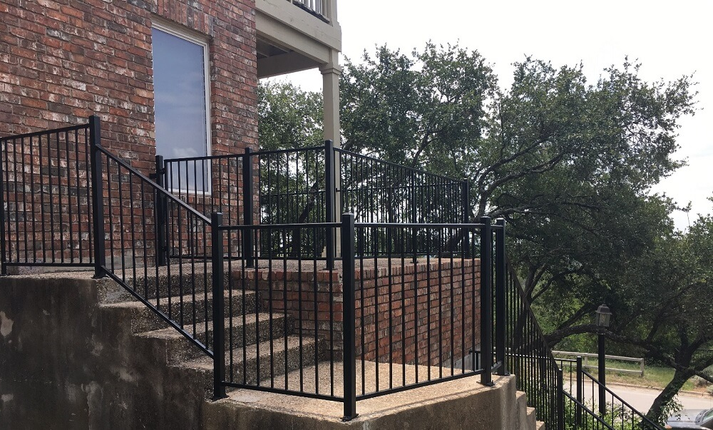 Iron railing for staircase