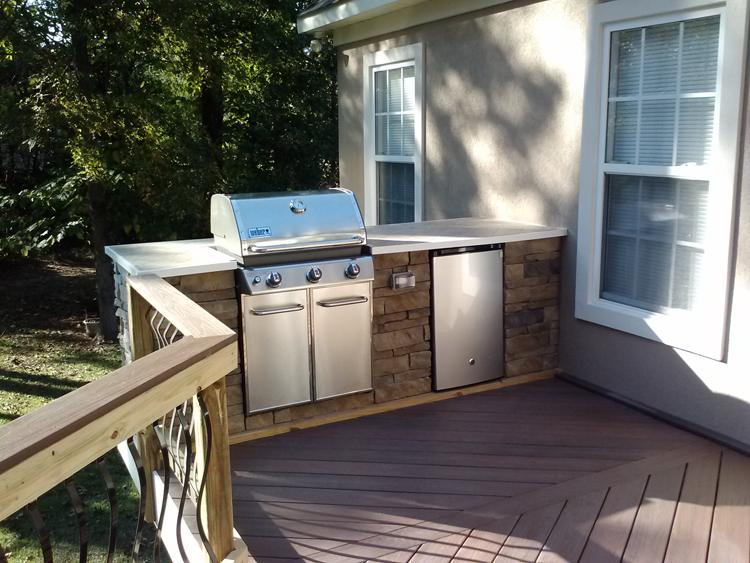custom outdoor grill