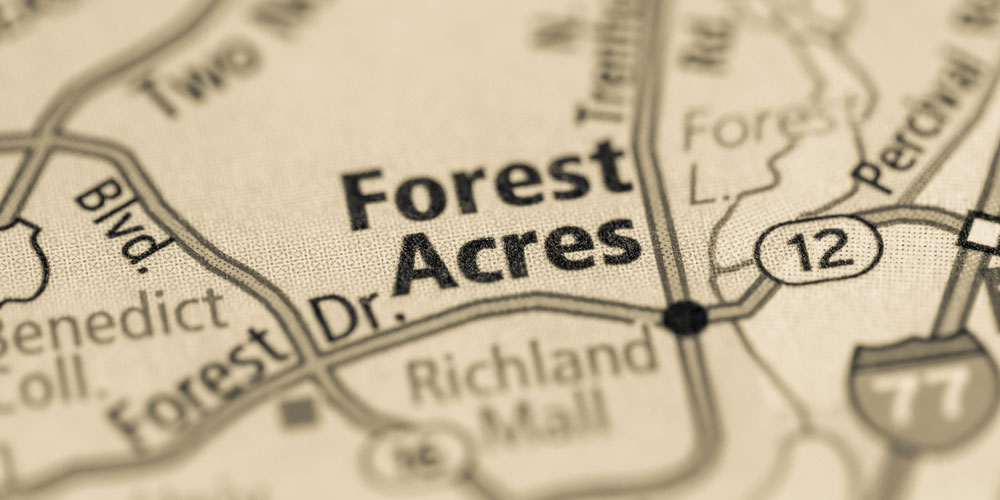 Forest Acres Map