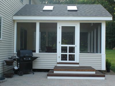 Your Screened Porch Exterior What S On The Outside Matters Too Archadeck Of Central South Carolina