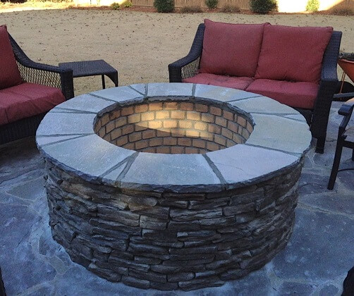 Columbia SC custom fire pits