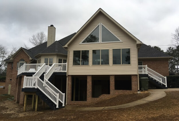 Columbia SC Sunroom and Deck Combination in Lost Creek