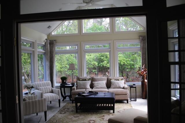 Custom sunroom