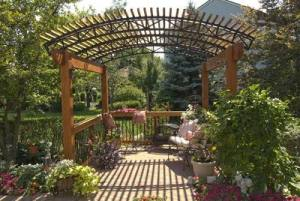 Garden Pergola Retreat