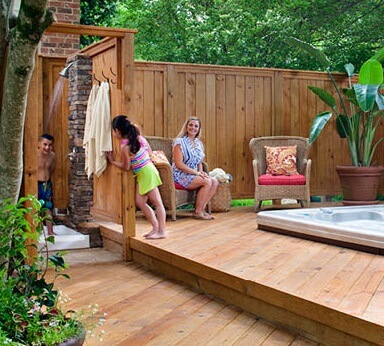 Poolside deck by Archadeck