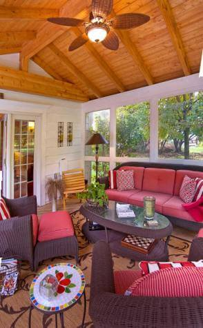 Screened in Porches That Blend Right Into Your Home