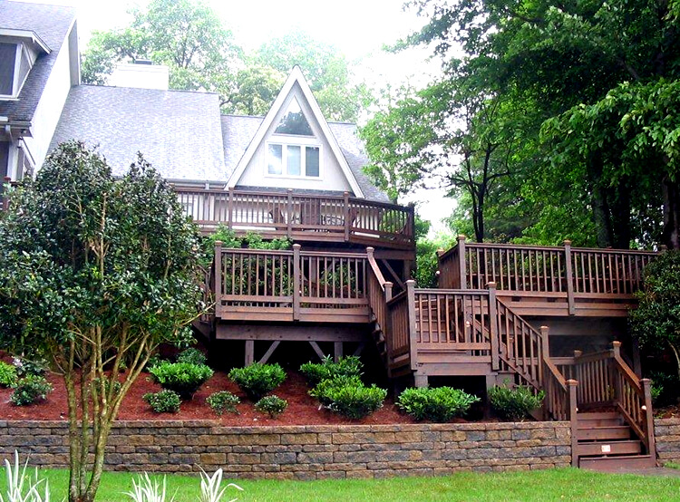 Trax Charlotte Trex Deck in Myers Park Charlotte NC