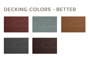 Trex Select finishes