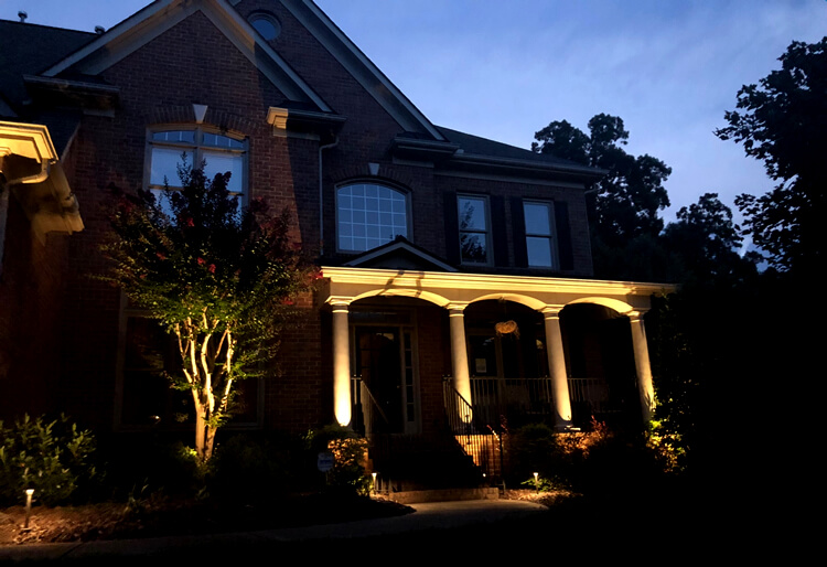Welcome Guests with Outdoor Lighting