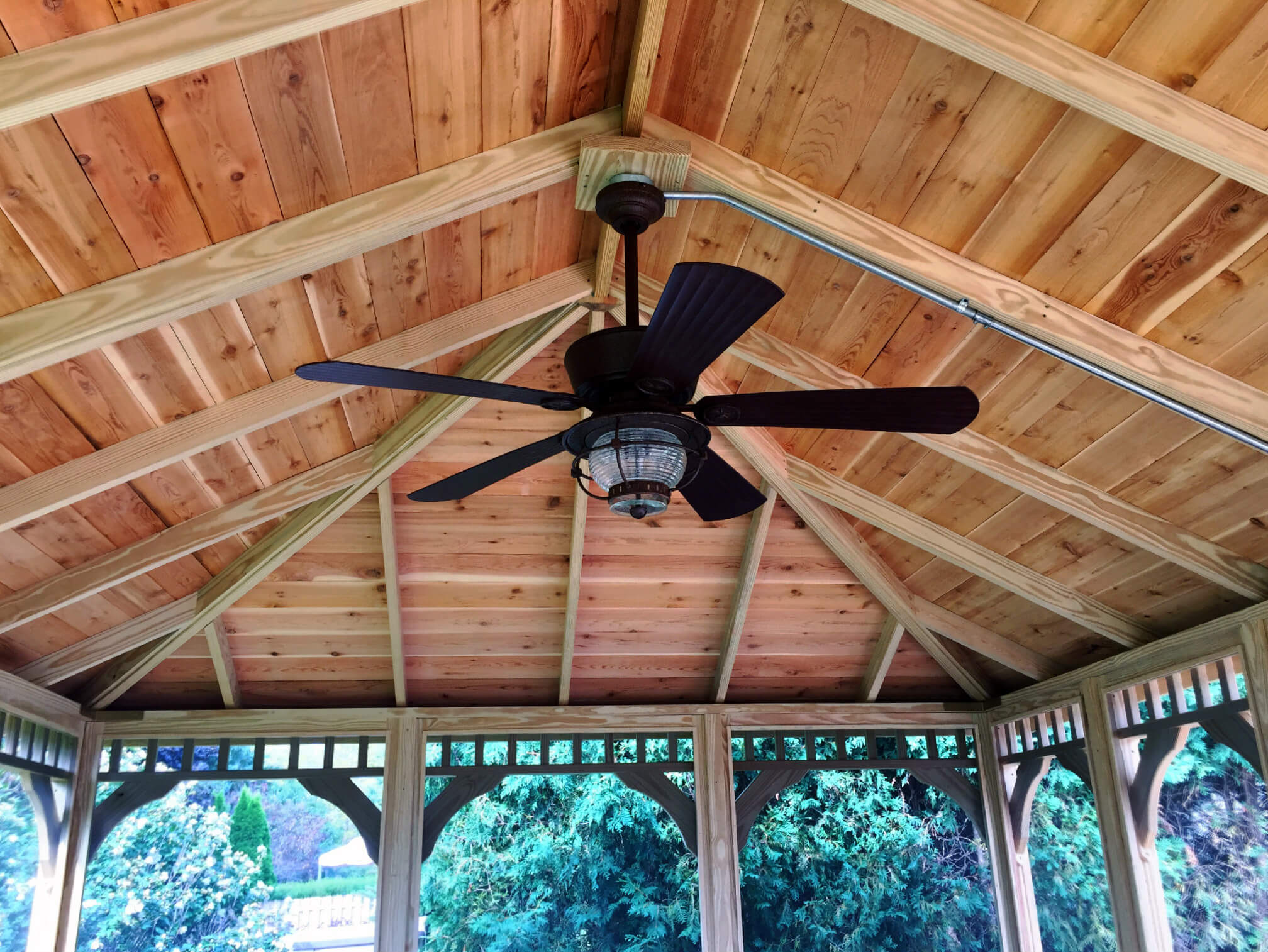 What Roof Style Should Your New Chicagoland Porch Or Sunroom Have Gable Shed Hip Flat Archadeck Of Chicagoland
