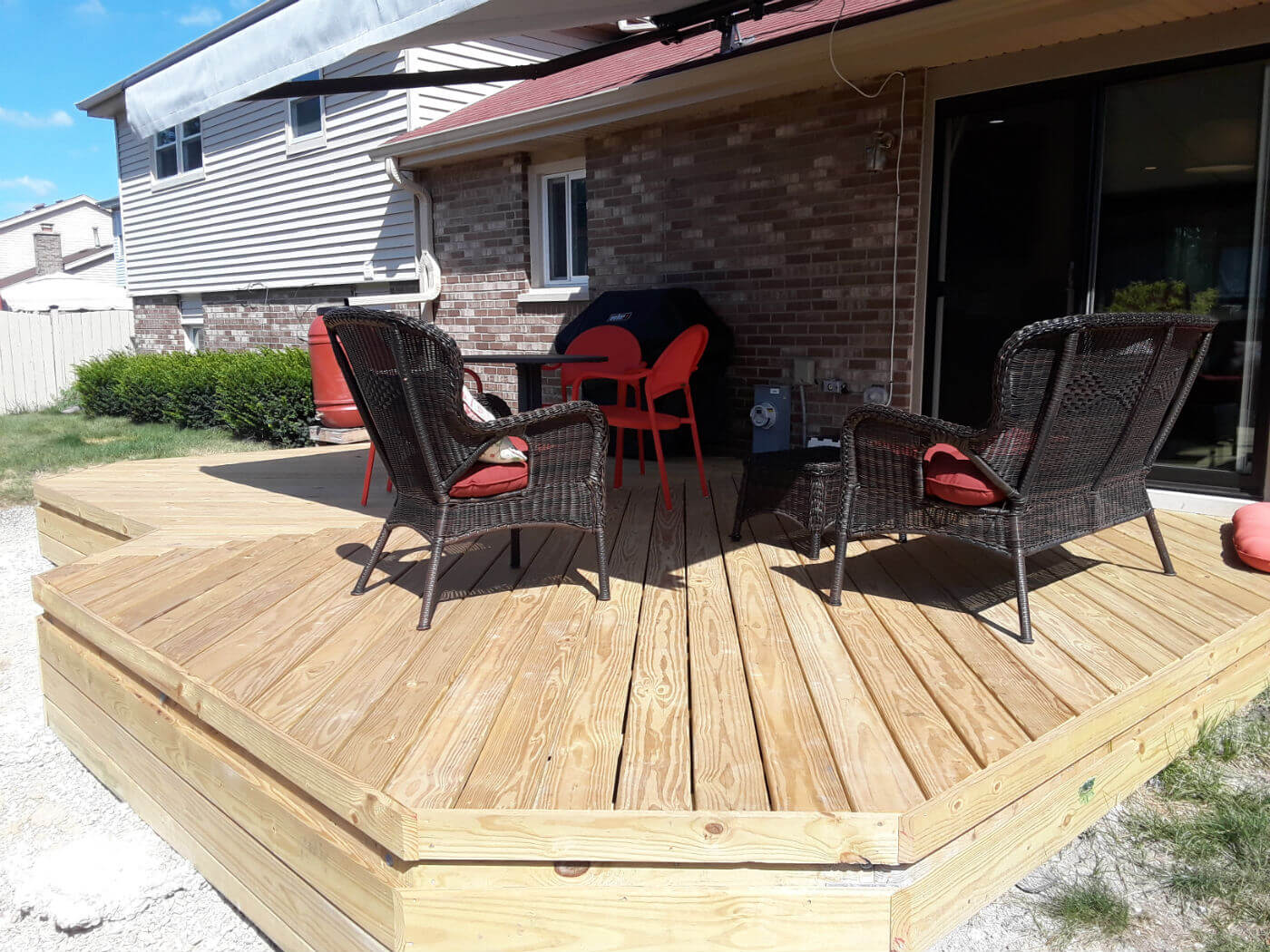 Downers Grove IL deck