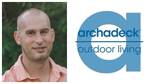 Owner Craig Whitman and Archadeck logo