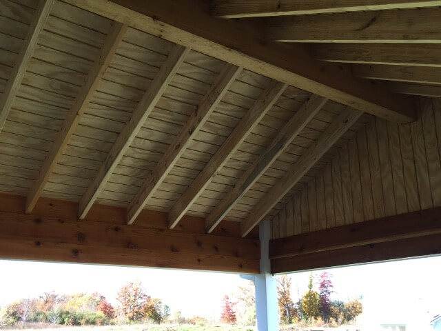 Patio cover details