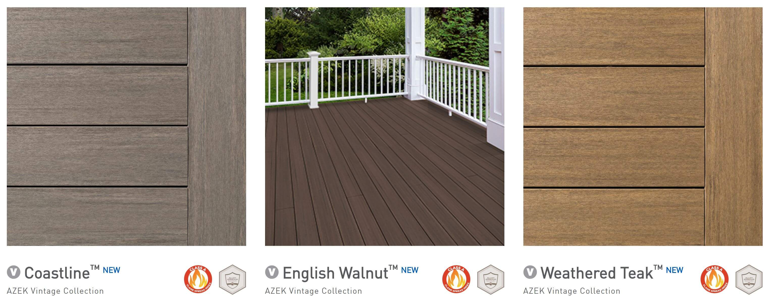 Deck design and color