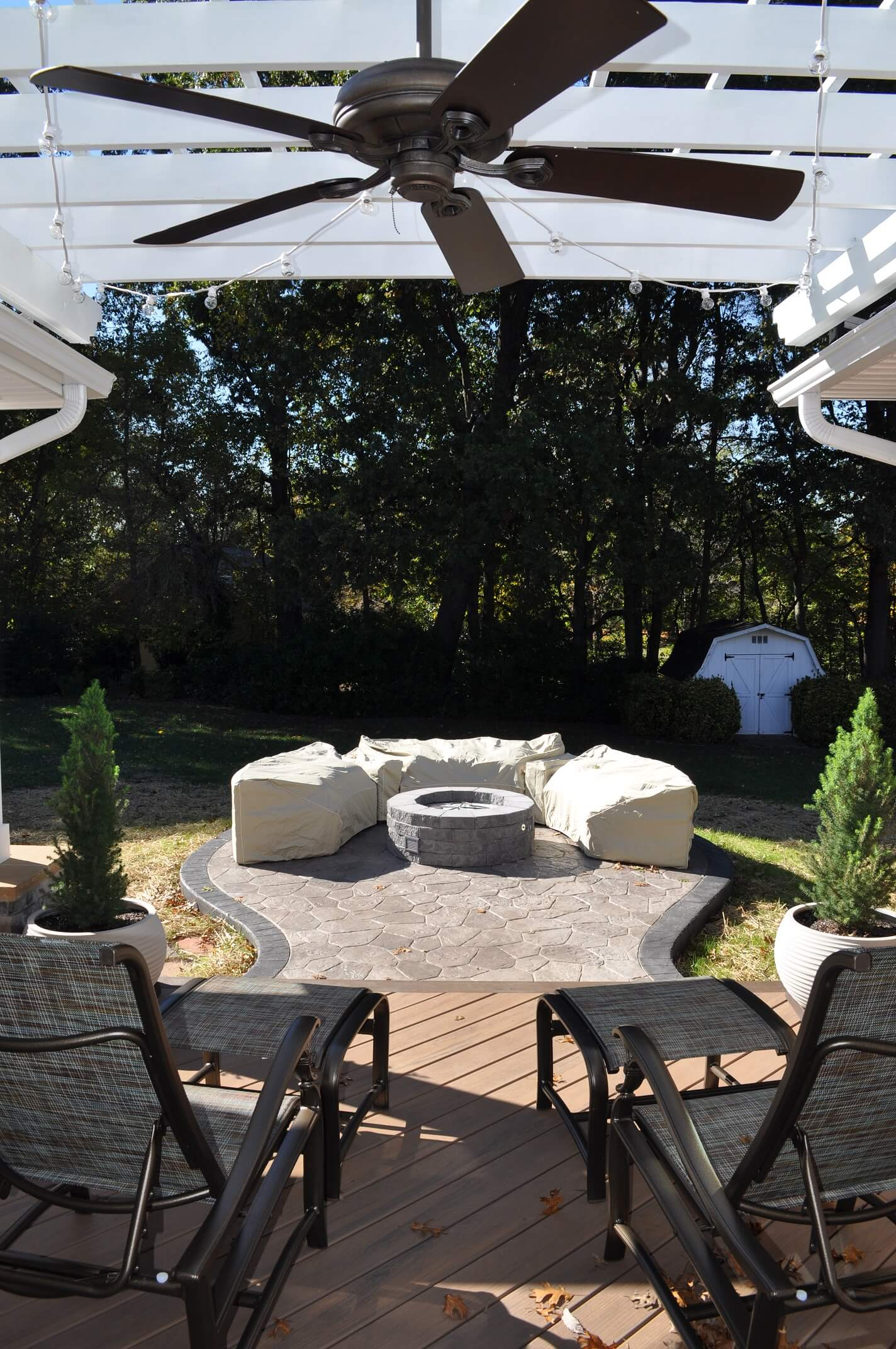 Deck-and-patio-combination-with-custom-fire-pit