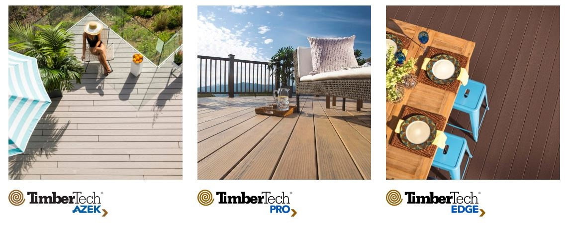 TimberTech by-AZEK's new product line