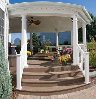 Custom porch builder
