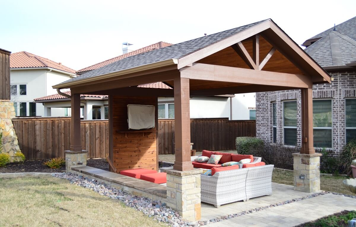 An Artful outdoor living space in Irving TX | Archadeck of ... on Dfw Complete Outdoor Living id=53704