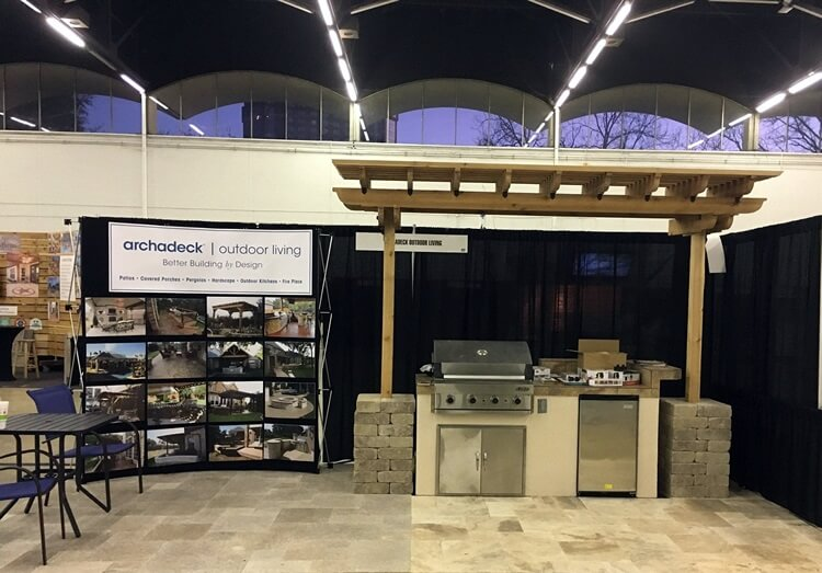 Southlake home show of deck