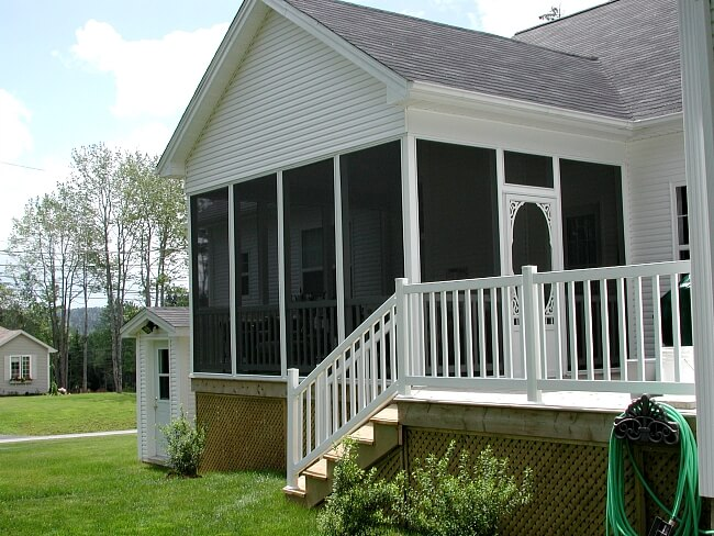 Screened Room Porch on home in Halifax