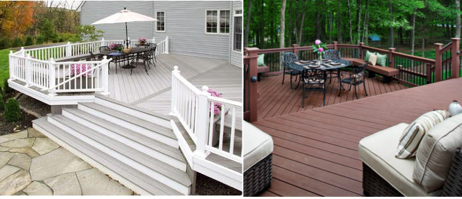 beautiful composite wood decks