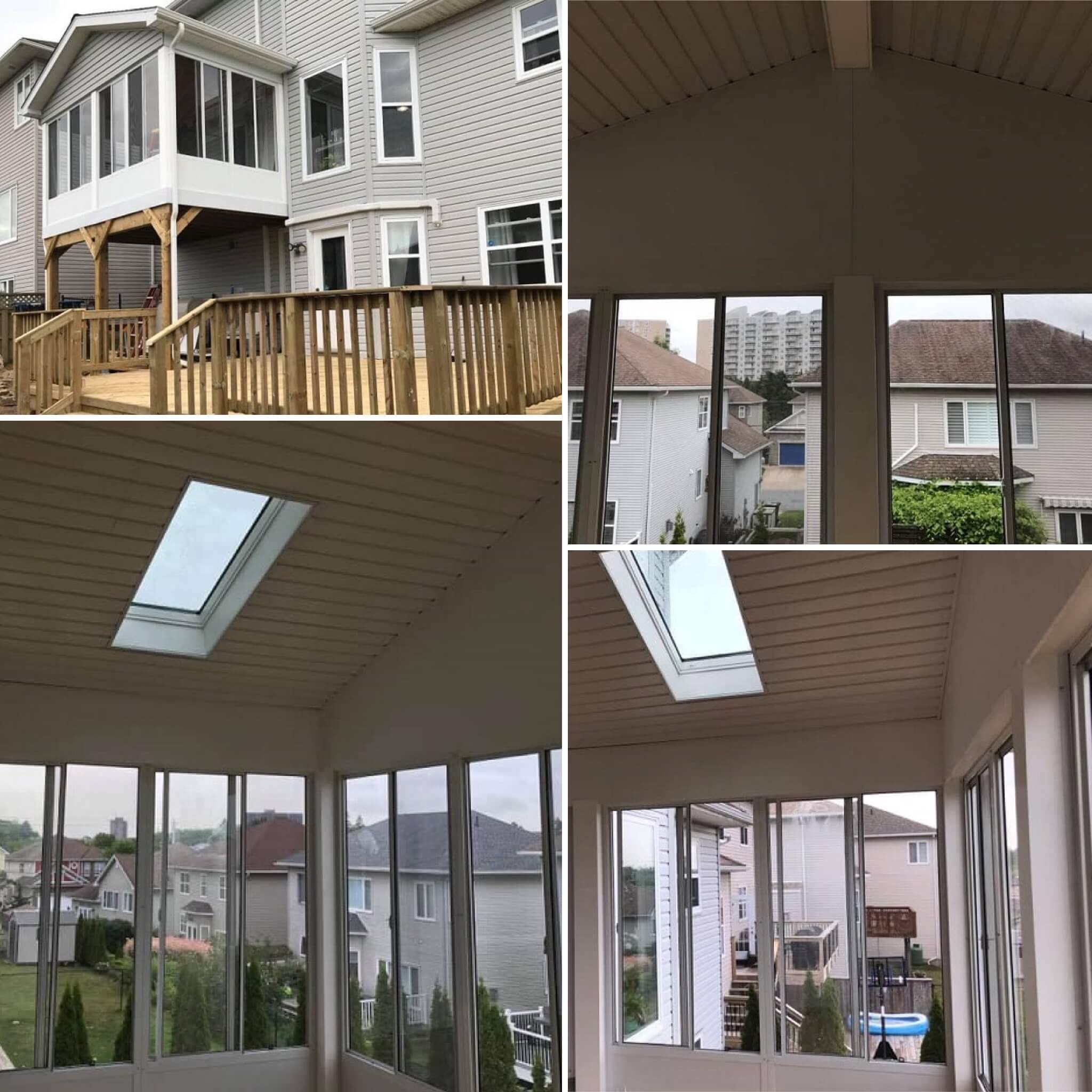 sunroom addition in Halifax, Nova Scotia