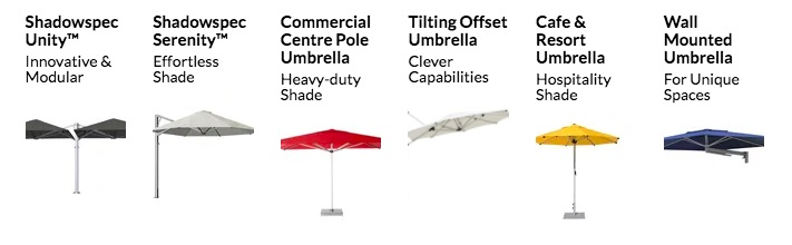 Outdoor Umbrella types