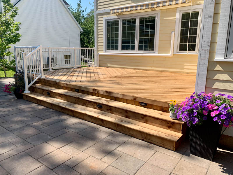 Custom Front Porch Design In Nova Scotia Archadeck